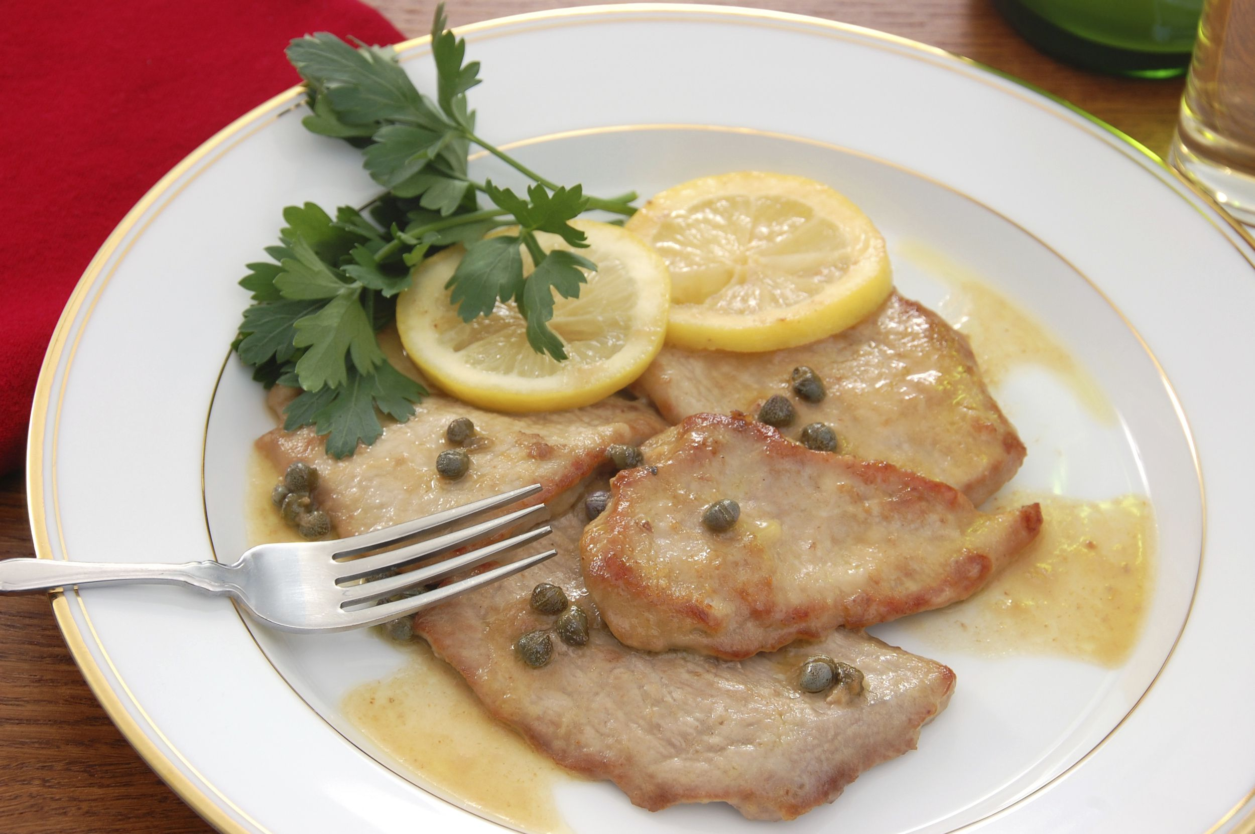 Room Decorating Games For Adults Classic Veal Piccata Recipe Quick Easy Comfort Food