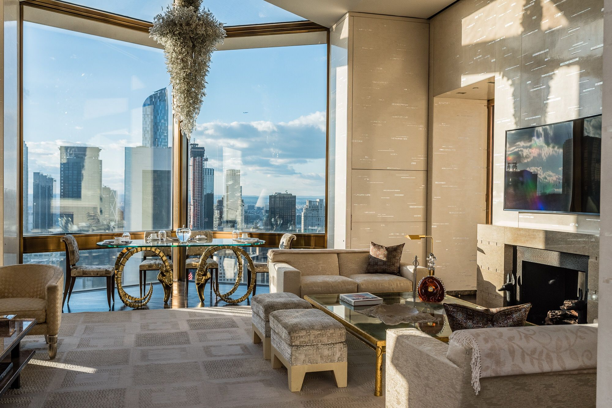 Check out the most expensive hotel room in america for Expensive penthouses in nyc