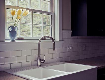 Unclogging A Kitchen Sink Between