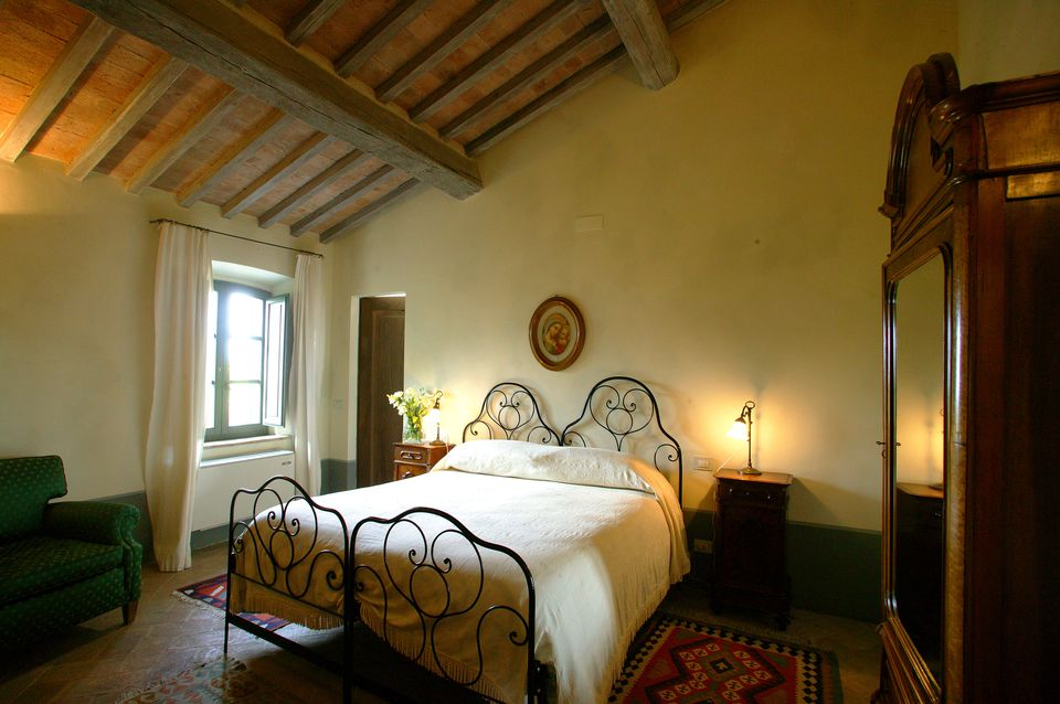 Charming Bedroom on Tuscan Farm