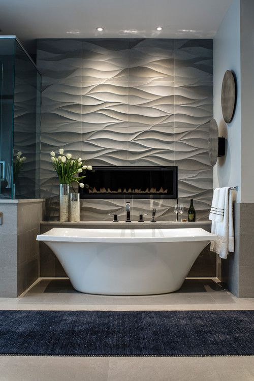 bathroom contemporary freestanding tub