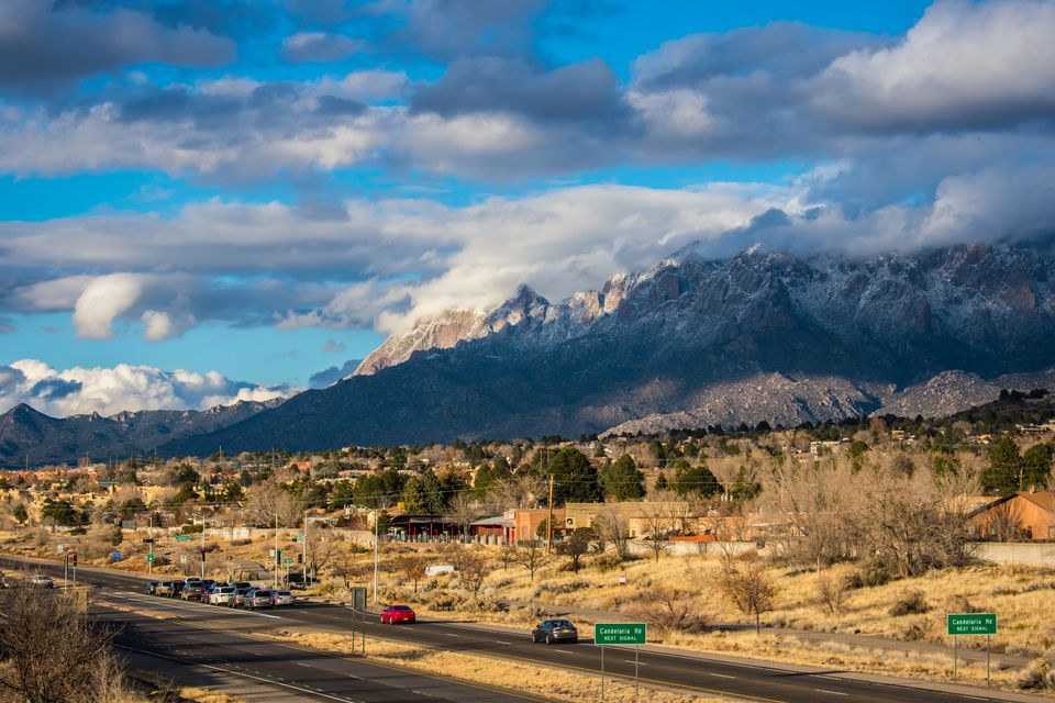 Driving Time From Albuquerque To Us National Parks