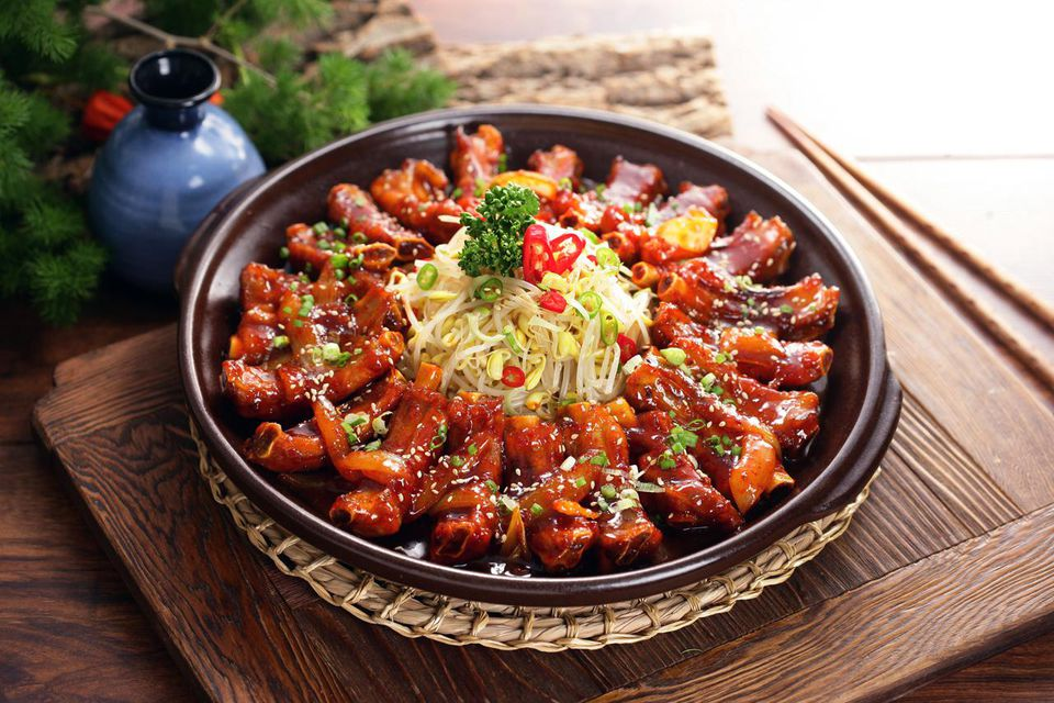 Marinated Daeji Galbi