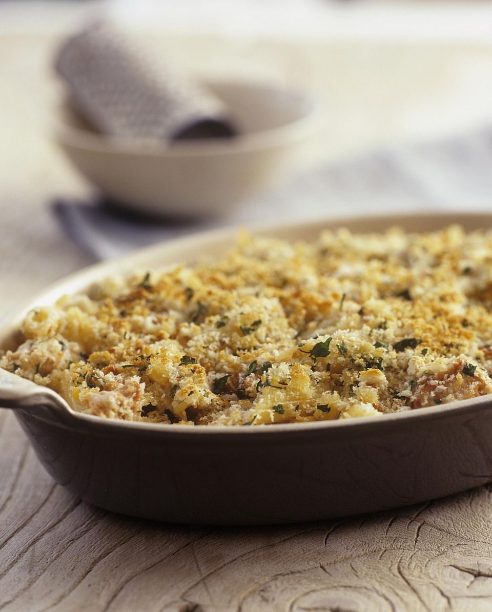 Asparagus and Chicken Noodle Casserole