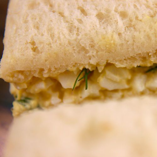 An image of Simple Egg Salad Tea Sandwiches.