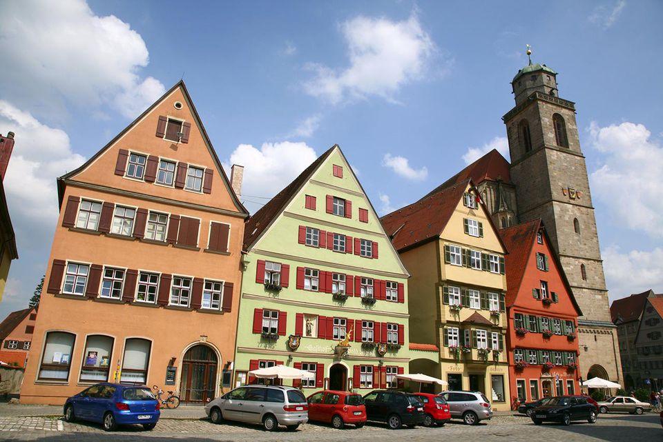 Dinkelsbuhl, Bavaria, Germany, Europe