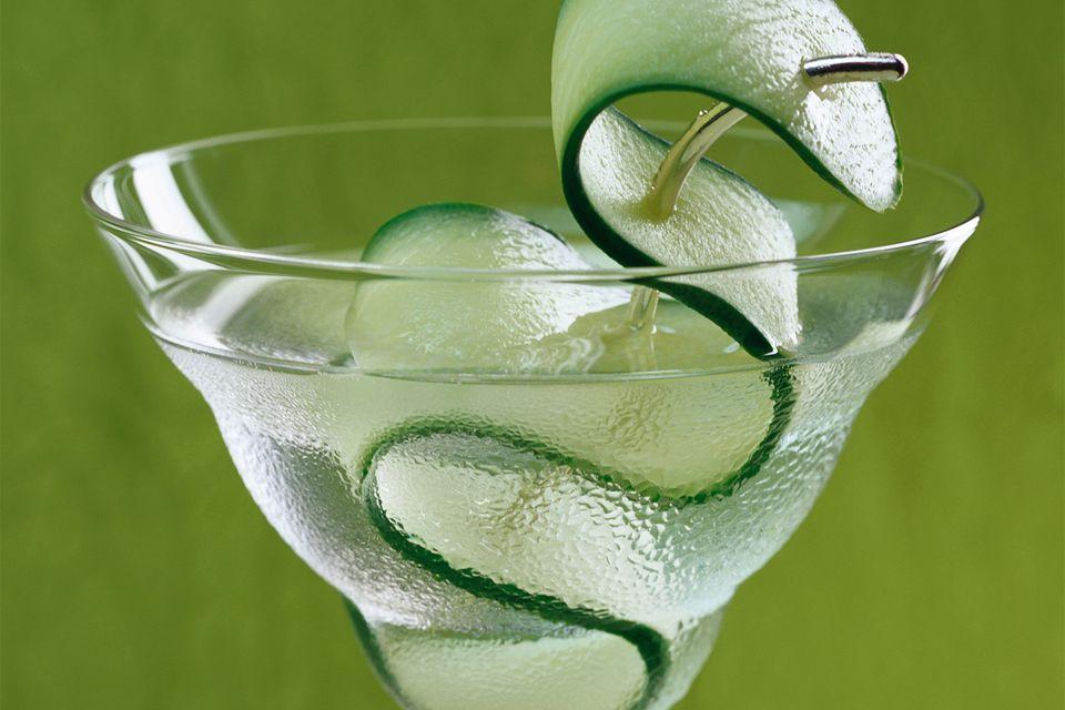 Wasabi Martini Cocktail