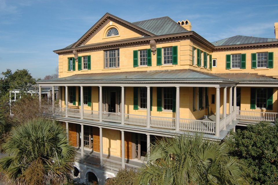 Aiken-Rhett House in Charleston, SC