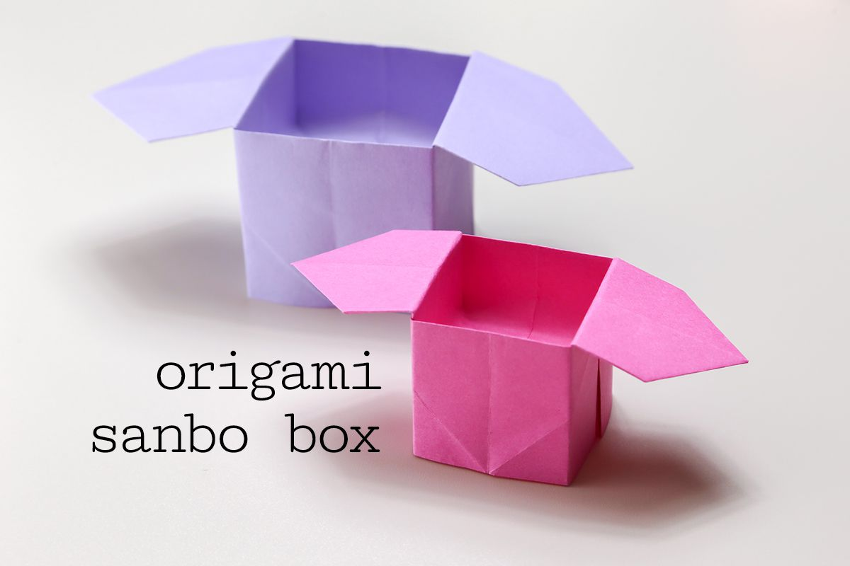 Origami sanbo box instructions jeuxipadfo Choice Image