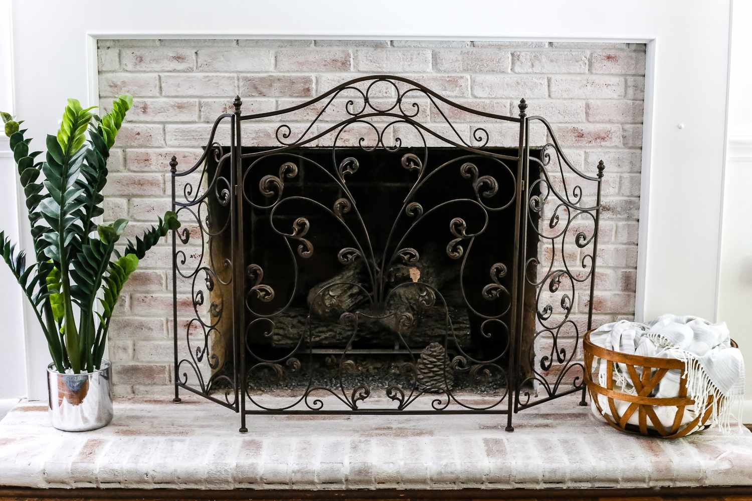 vintage french iron hand fireplace by ideas screen custom home decor made crafted wrought screens renovation design