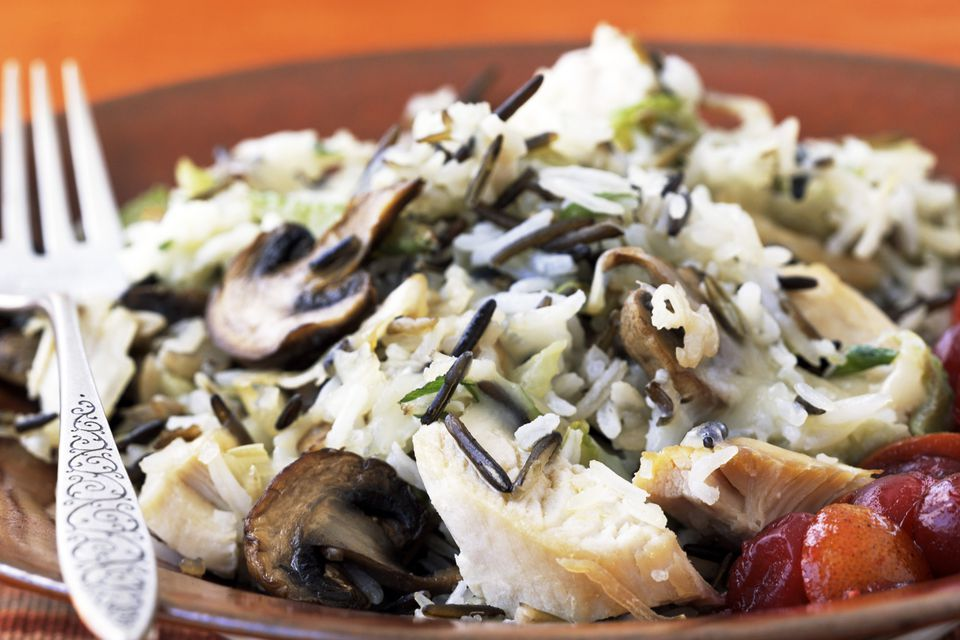 chicken wild rice