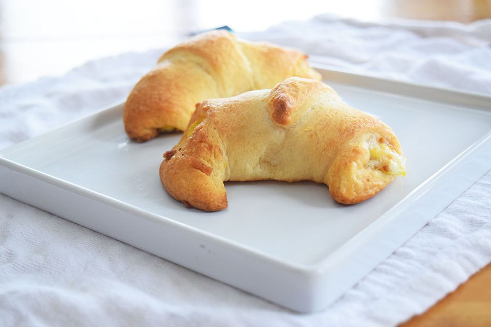 Bacon Egg and Cheese Crescent Rolls