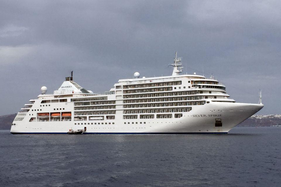 Silversea Cruises' Silver Spirit Luxury Cruise Ship