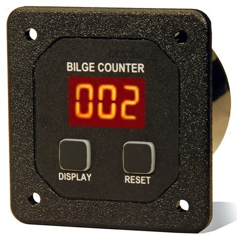 Bilge Pump Counter