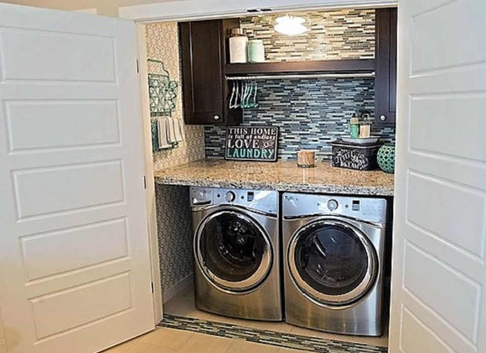 How To Find Space For A Home Laundry Area