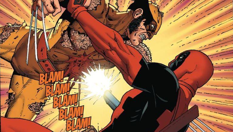 Deadpool vs Wolverine by Steve Dillon and Matt Milla
