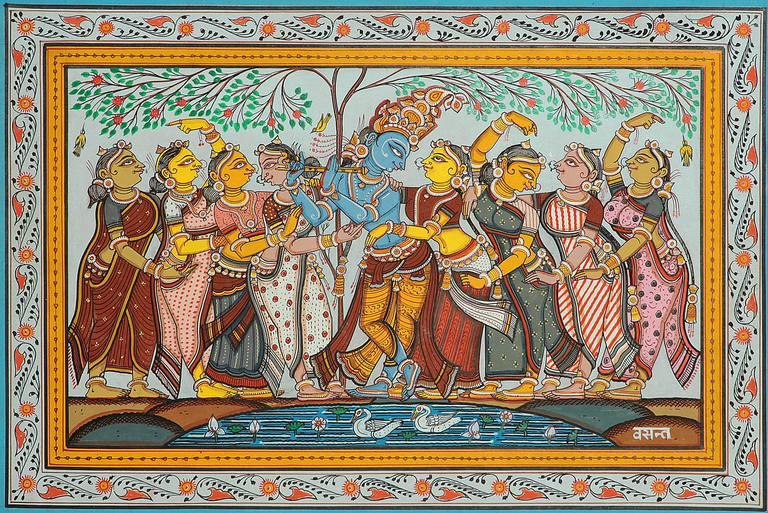 Vasanta Ritu - A Spring Scene