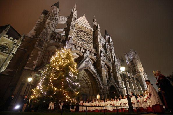 Westminster Abbey Christmas Eve