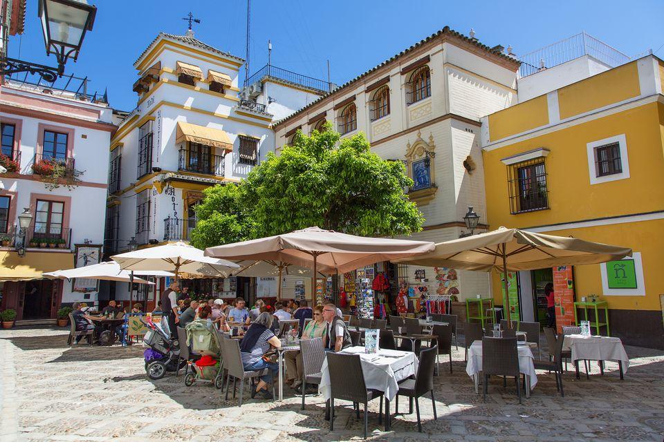 Barrio Santa Cruz in Seville