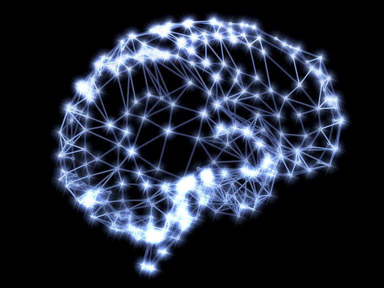 representation of the brain cells firing