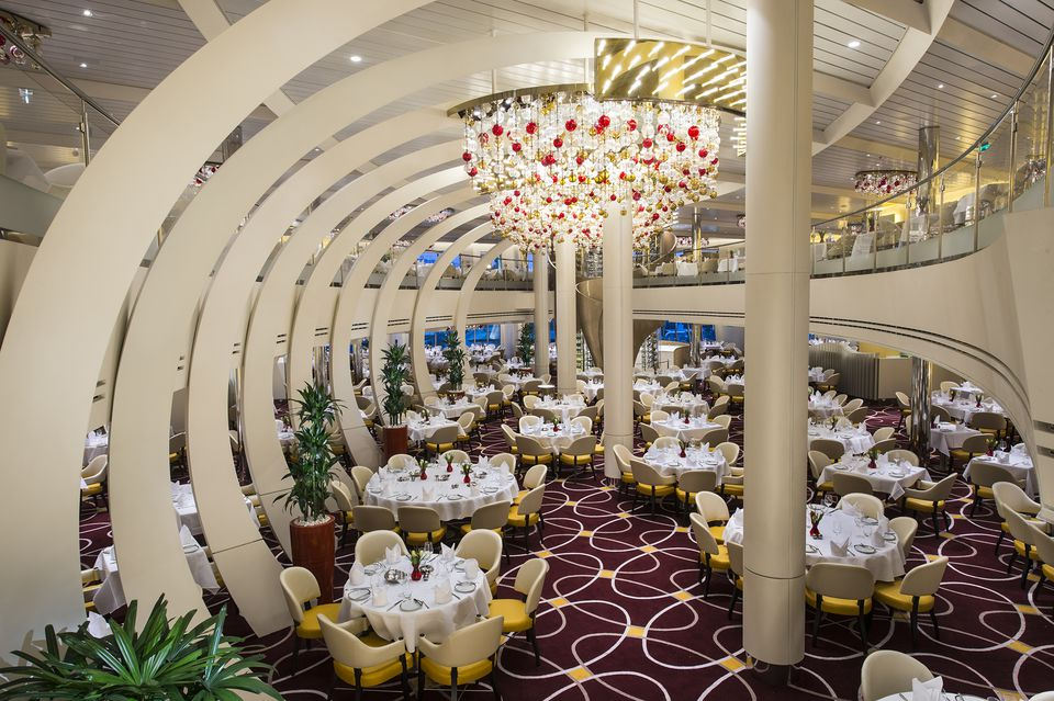 Holland America ms Koningsdam Dining and Cuisine