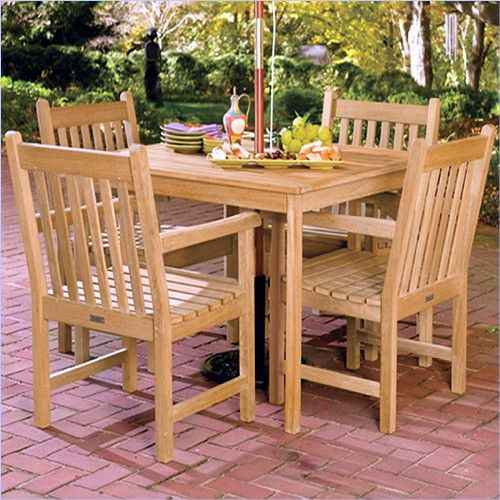 Picture of Oxford Garden Shorea Wood Outdoor Dining Set