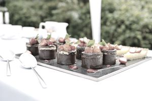 Catering companies are a good way to try out the restaurant business