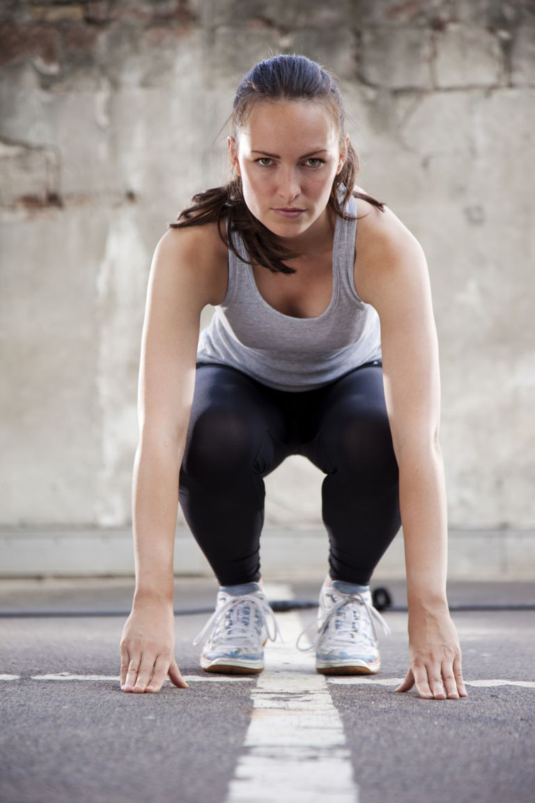 Burpees are an excellent exercise to get started with plyometrics.