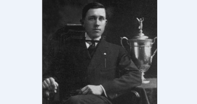 Johnny McDermott was the first golfer born in the United States to win the US Open