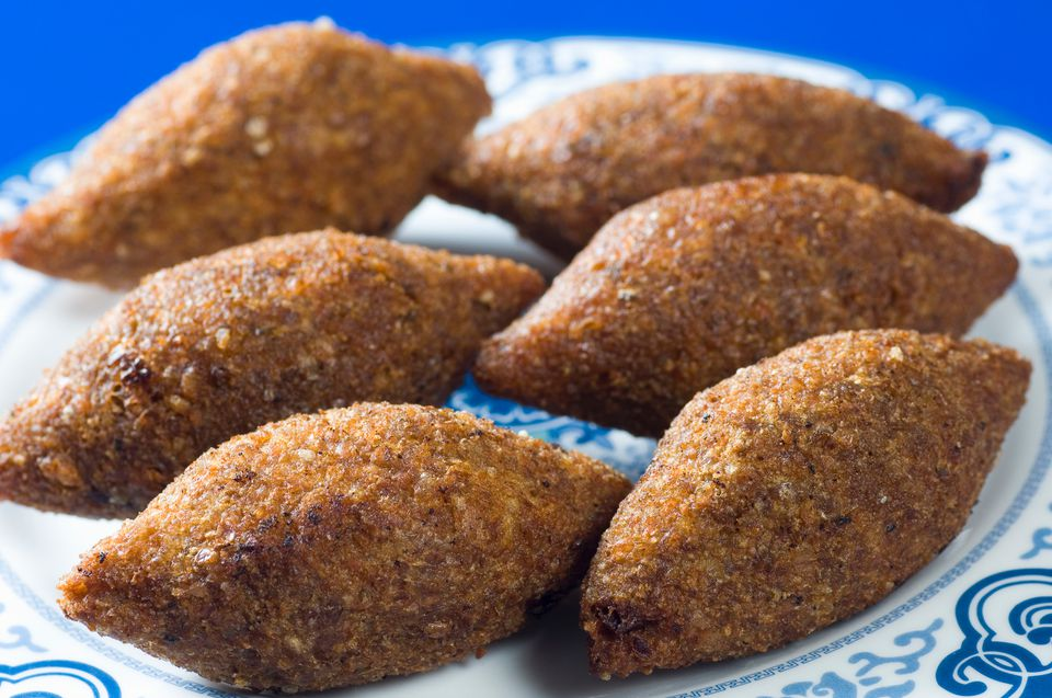 A plate of kibbeh