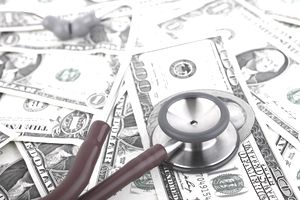 Stethoscope checks the pace of rising retirement health care costs.