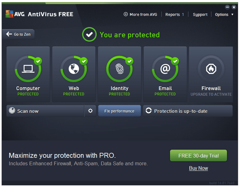 AVG AntiVirus FREE Free Download for Windows 10 7 8/ (64 bit/32 bit)