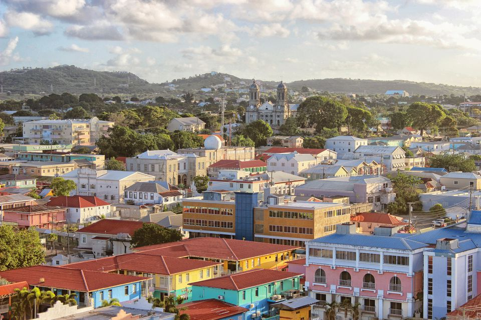St. John in Antigua.