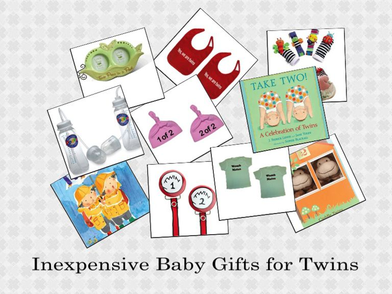 Inexpensive Baby Gifts for Twins