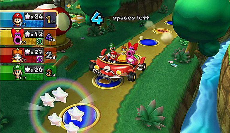 Mario Car Mini Game