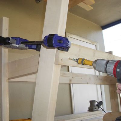 Working with SPF Lumber