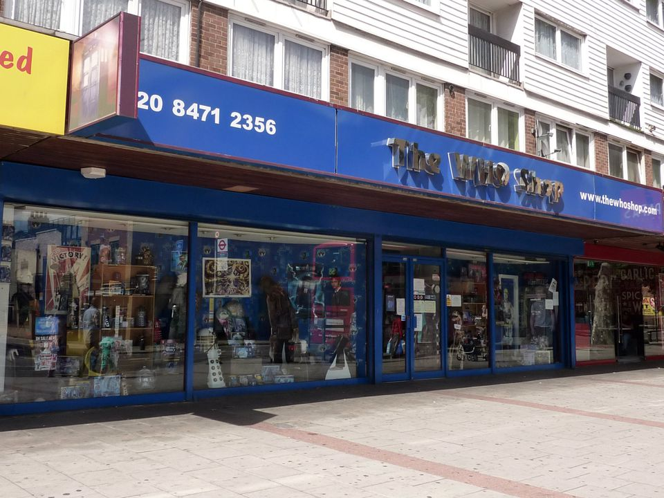 Doctor Who Shop and Museum London
