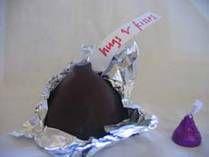 Giant Chocolate Kiss