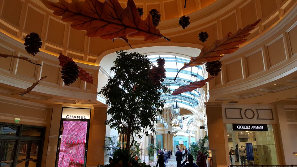 Shopping at Bellagio Las Vegas