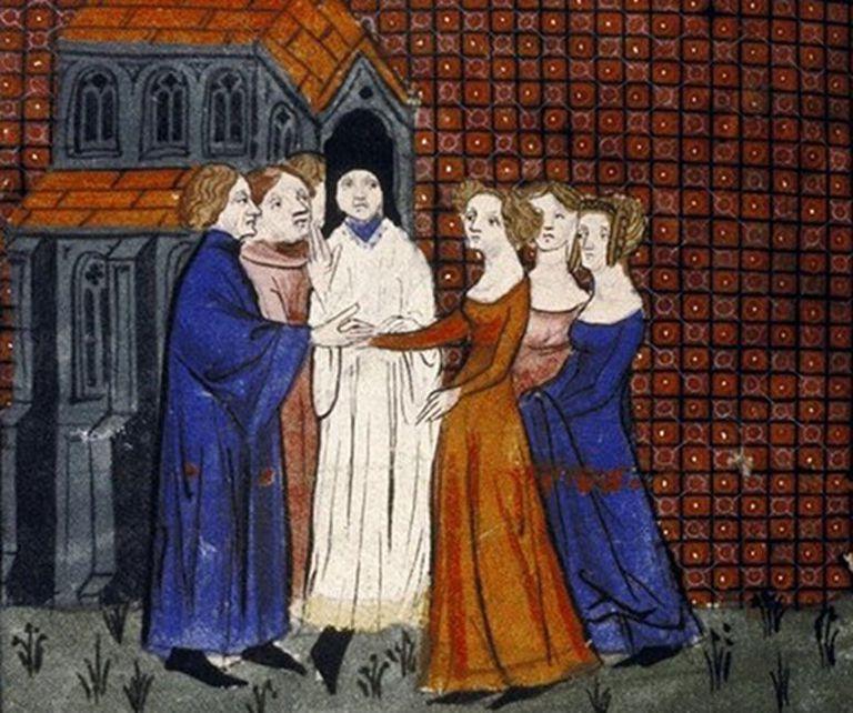 Wedding of Louis X