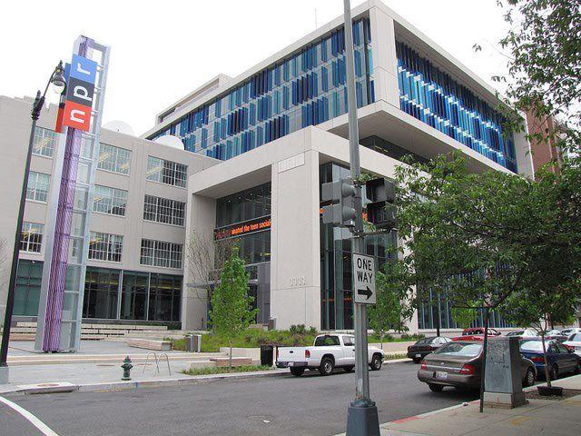 NPR Headquarters in Washington DC