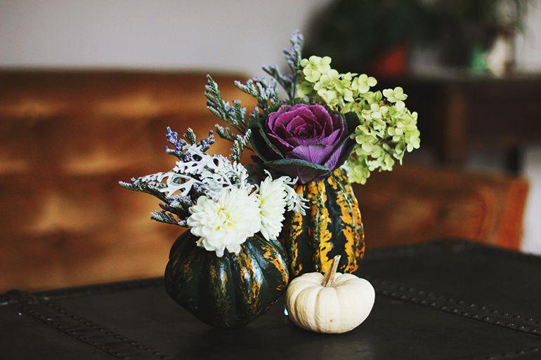 DIY Gourd Vase