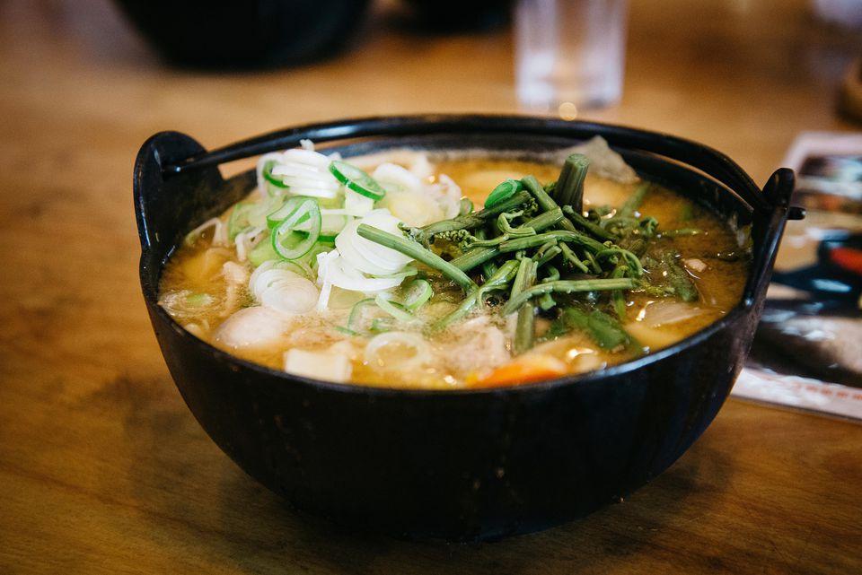 Miso Udon Noodle Soup (Miso Nikomi Udon)