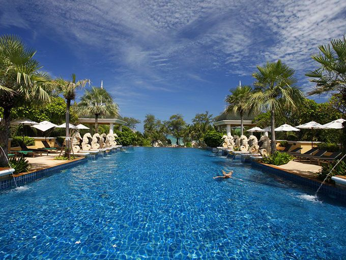 Paradise hotel in Phuket, Thailand