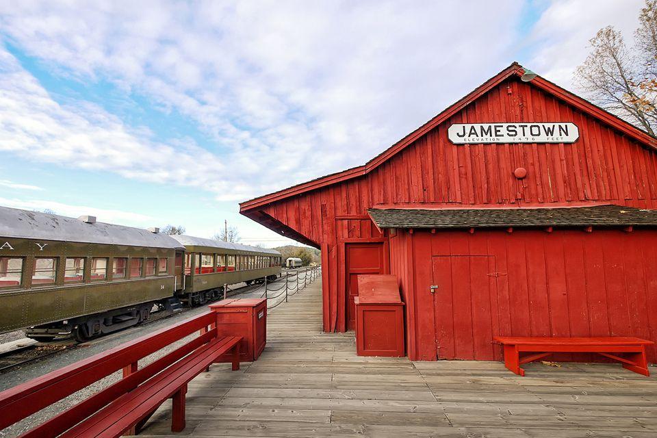Depot at Railtown 1897 in Jamestown