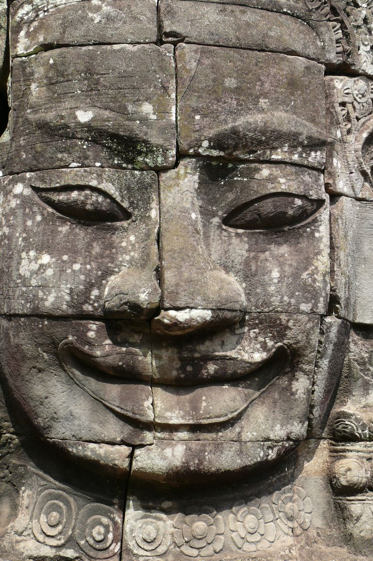 Sculpted Architectural Head, Angkor Wat (Cambodia)
