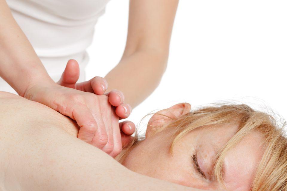 when massage hurts