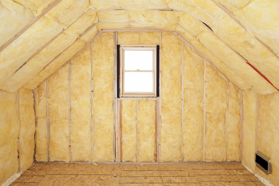 attic room insulation frame and window 185300643 57f64f883df78c690ffbfcb9