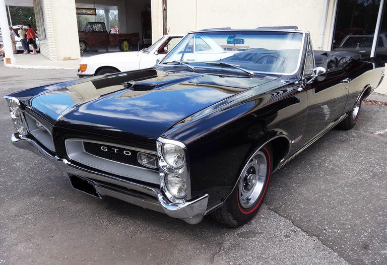 All Original 1966 Pontiac GTO Convertible