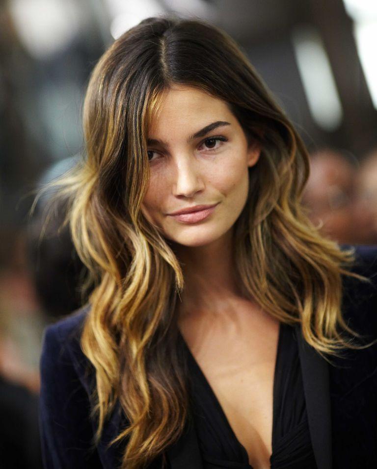 Lily Aldridge\'s Ombre Hair